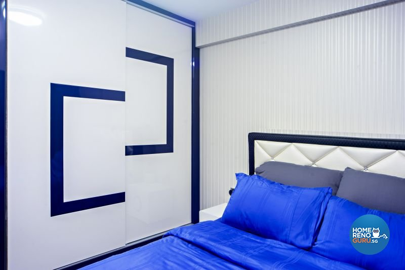 Classical, Contemporary, Modern Design - Bedroom - HDB 4 Room - Design by Renozone Interior Design House