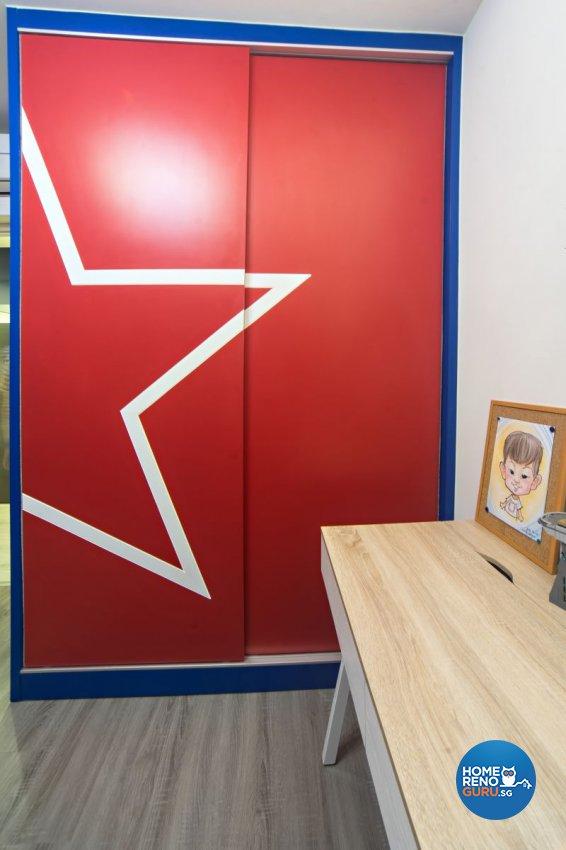 Classical, Contemporary, Modern Design - Bedroom - HDB 4 Room - Design by Renozone Interior Design House