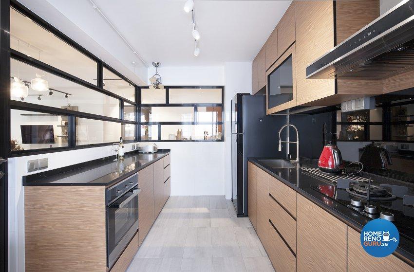 Scandinavian Design - Kitchen - HDB 5 Room - Design by Renozone Interior Design House