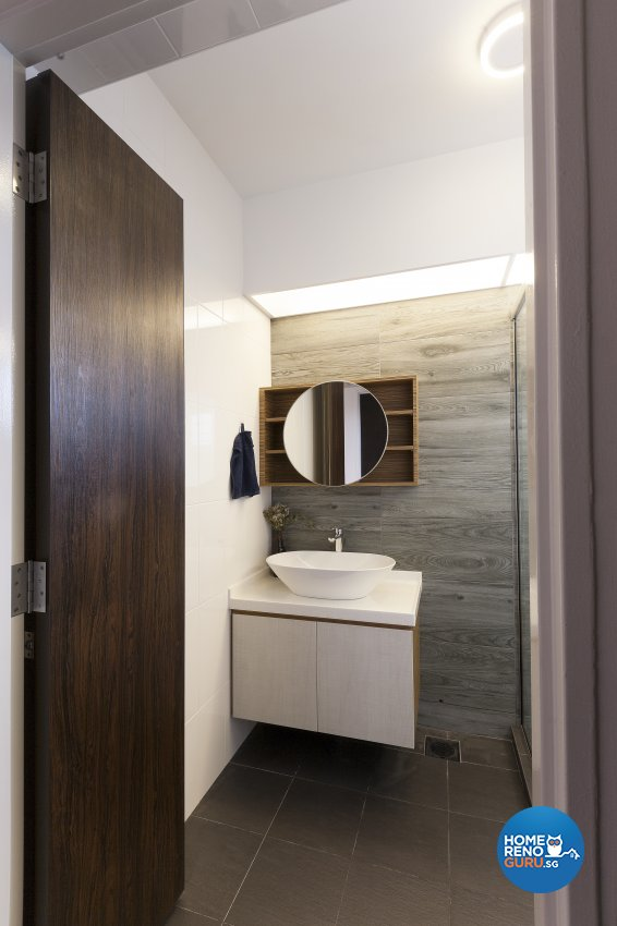 Scandinavian Design - Bathroom - HDB 5 Room - Design by Renozone Interior Design House