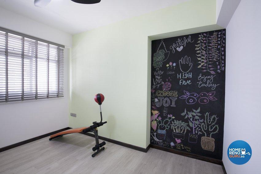 Scandinavian Design - Bedroom - HDB 5 Room - Design by Renozone Interior Design House