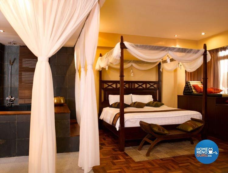 Resort, Tropical Design - Bedroom - Condominium - Design by Renozone Interior Design House