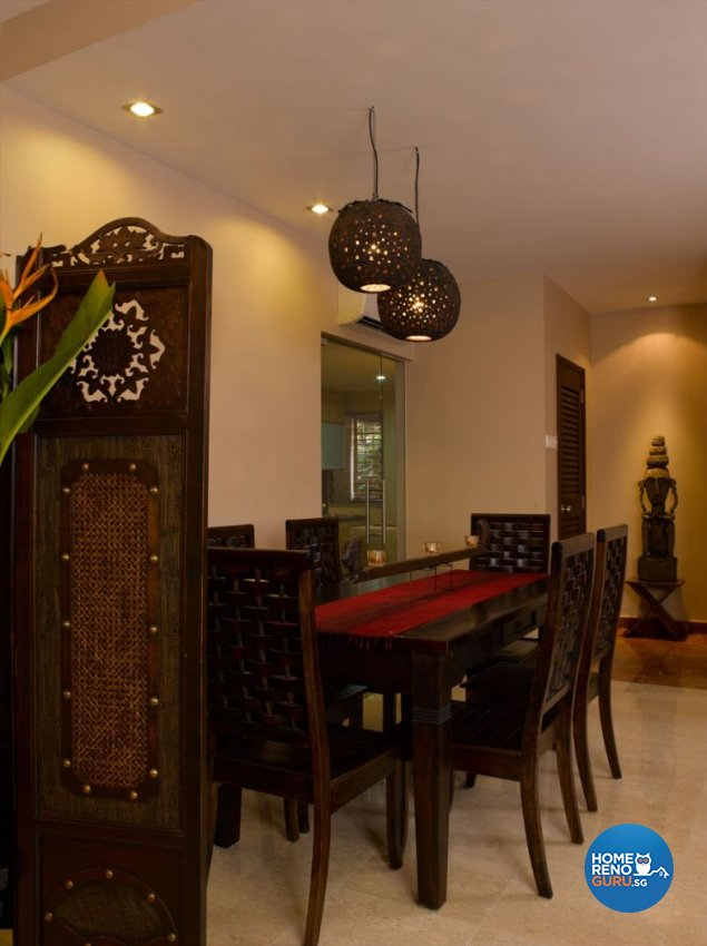 Resort, Tropical Design - Dining Room - Condominium - Design by Renozone Interior Design House