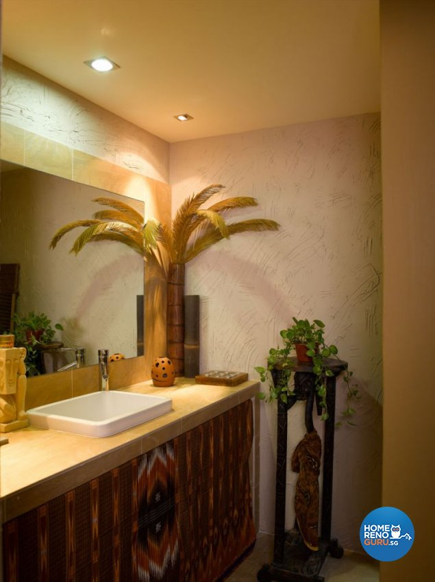 Resort, Tropical Design - Bathroom - Condominium - Design by Renozone Interior Design House