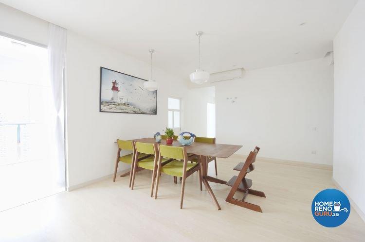 Contemporary, Scandinavian Design - Dining Room - Condominium - Design by Renozone Interior Design House