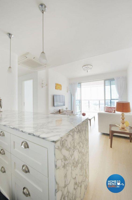 Contemporary, Scandinavian Design - Living Room - Condominium - Design by Renozone Interior Design House