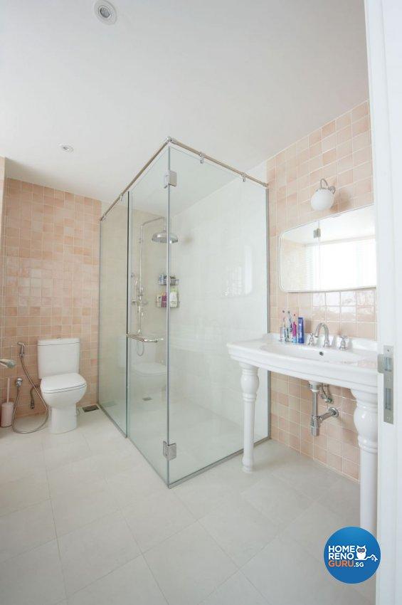 Contemporary, Scandinavian Design - Bathroom - Condominium - Design by Renozone Interior Design House