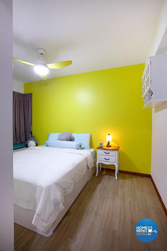 Modern, Scandinavian Design - Bedroom - HDB 3 Room - Design by Renozone Interior Design House