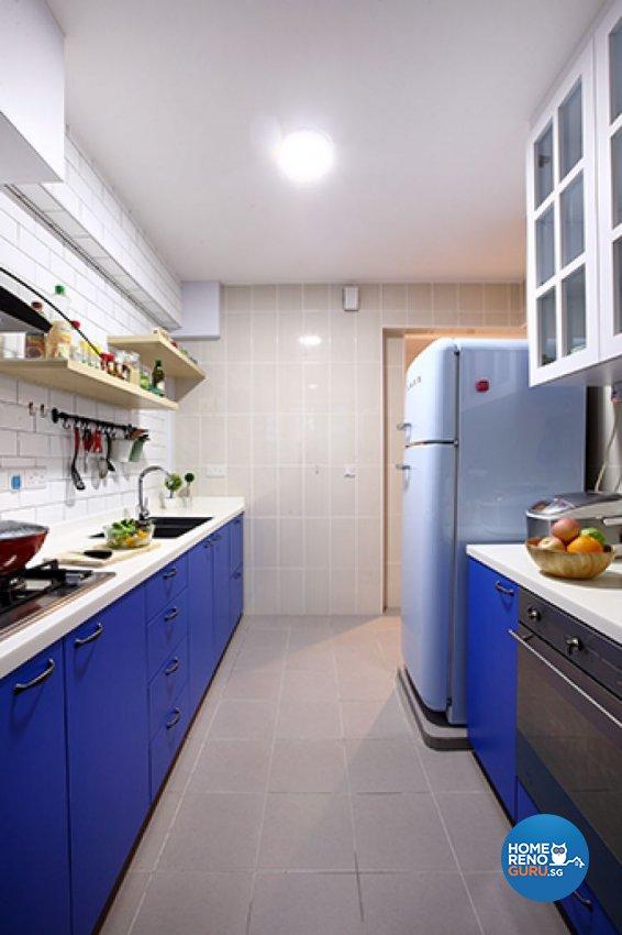 Modern, Scandinavian Design - Kitchen - HDB 3 Room - Design by Renozone Interior Design House
