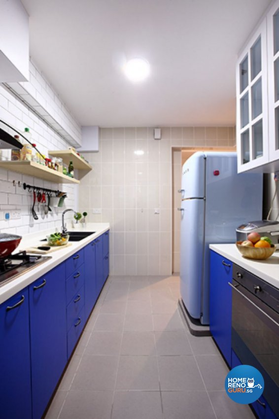 Modern, Scandinavian Design - Kitchen - HDB 3 Room - Design by Renozone Interior Design House