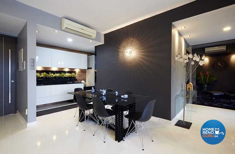 Contemporary, Modern Design - Dining Room - Condominium - Design by Renozone Interior Design House