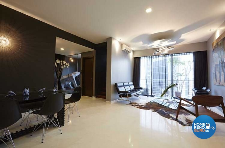 Contemporary, Modern Design - Living Room - Condominium - Design by Renozone Interior Design House