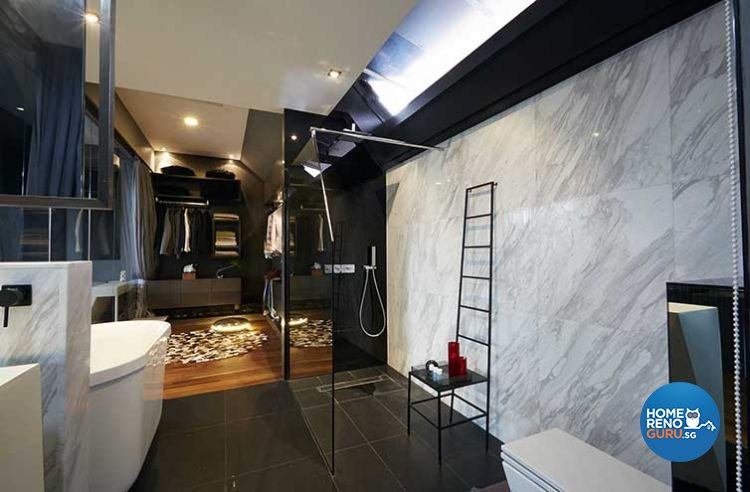 Contemporary, Modern Design - Bathroom - Condominium - Design by Renozone Interior Design House