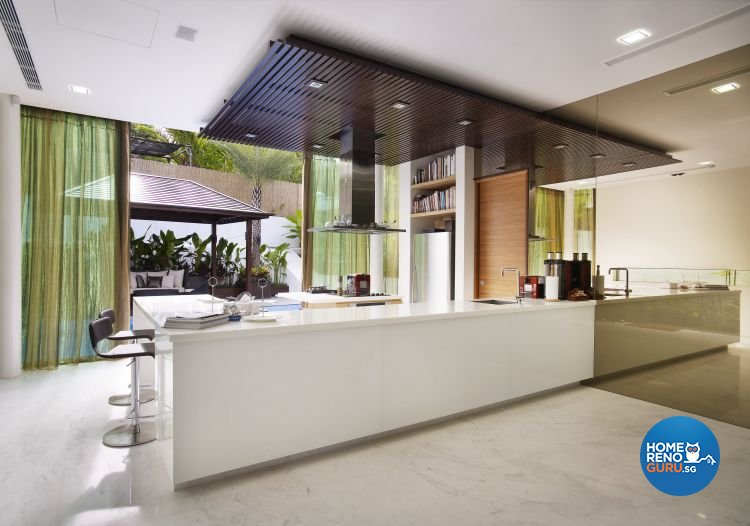 Contemporary, Modern Design - Kitchen - Landed House - Design by Renozone Interior Design House
