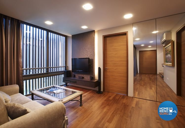 Contemporary, Modern Design - Entertainment Room - Landed House - Design by Renozone Interior Design House