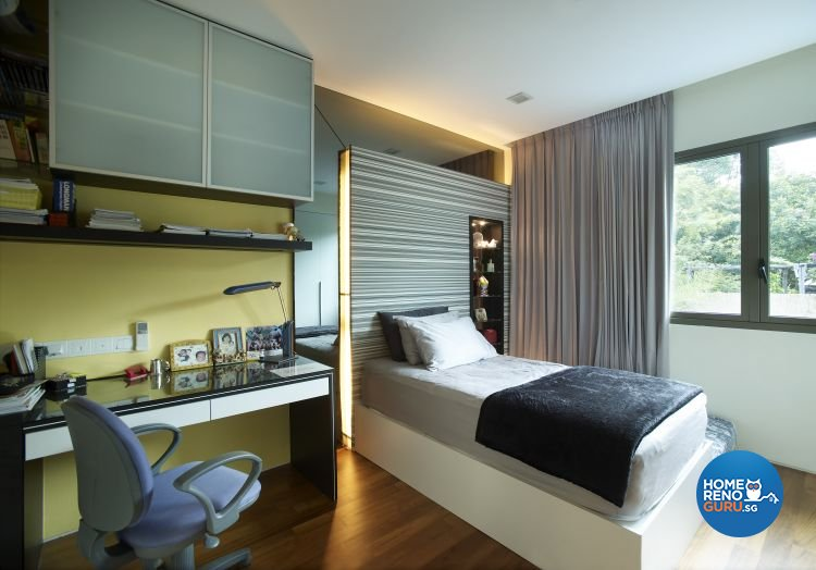 Contemporary, Modern Design - Bedroom - Landed House - Design by Renozone Interior Design House