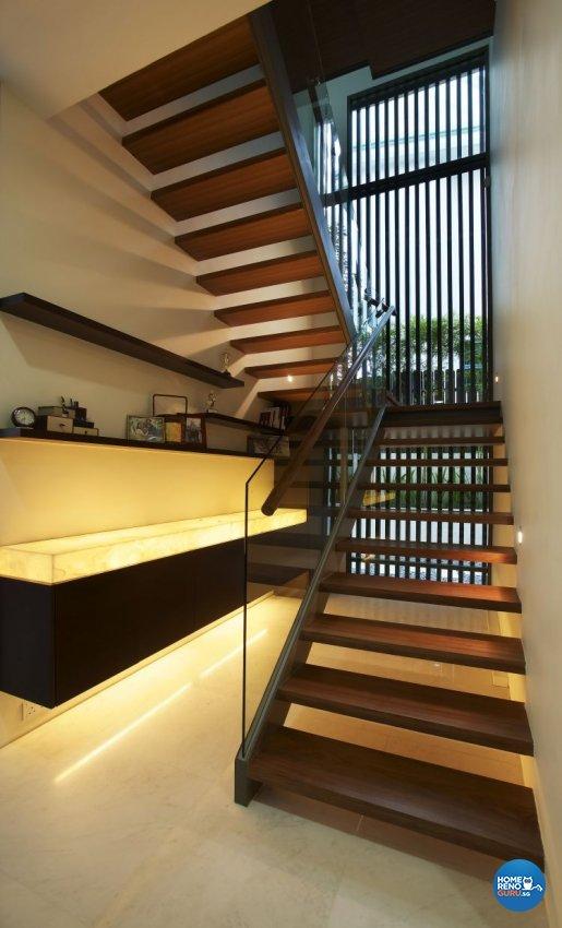 Contemporary, Modern Design - Balcony - Landed House - Design by Renozone Interior Design House