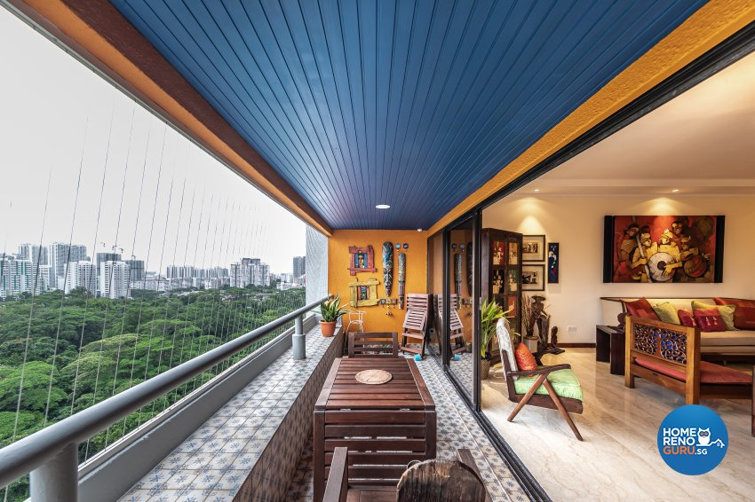 Eclectic Design -  - Condominium - Design by Renozone Interior Design House