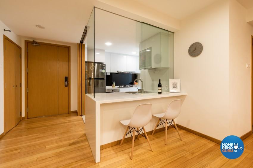 Modern Design - Kitchen - Condominium - Design by Renozone Interior Design House