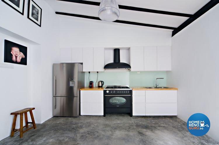 Contemporary, Industrial, Minimalist Design - Kitchen - Landed House - Design by Renozone Interior Design House