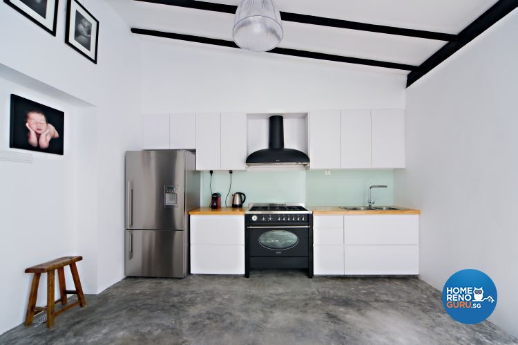 Contemporary, Industrial, Minimalist Design - Kitchen - Landed House - Design by Renozone Interior Design House