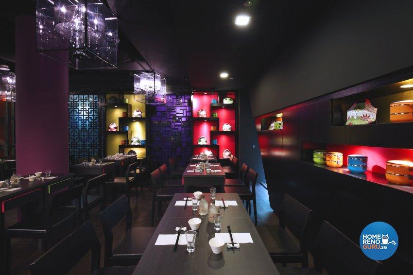 Retro Design - Commercial - Retail - Design by Renozone Interior Design House