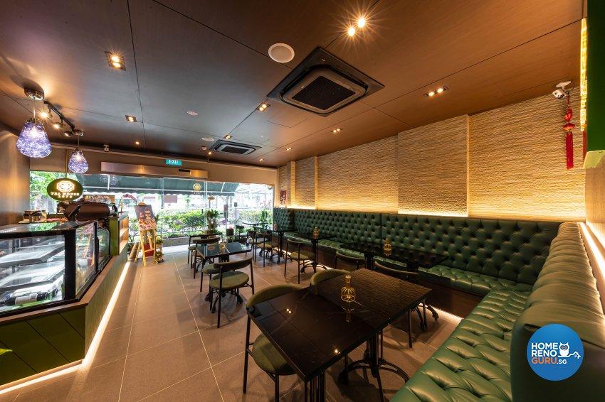 Contemporary, Modern Design -  - F&B - Design by Renozone Interior Design House