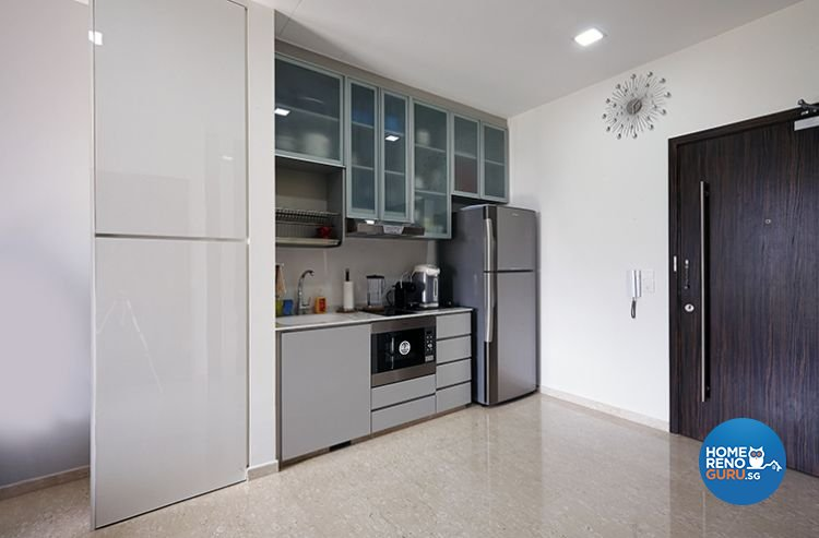 Modern, Resort Design - Kitchen - Condominium - Design by Renozone Interior Design House
