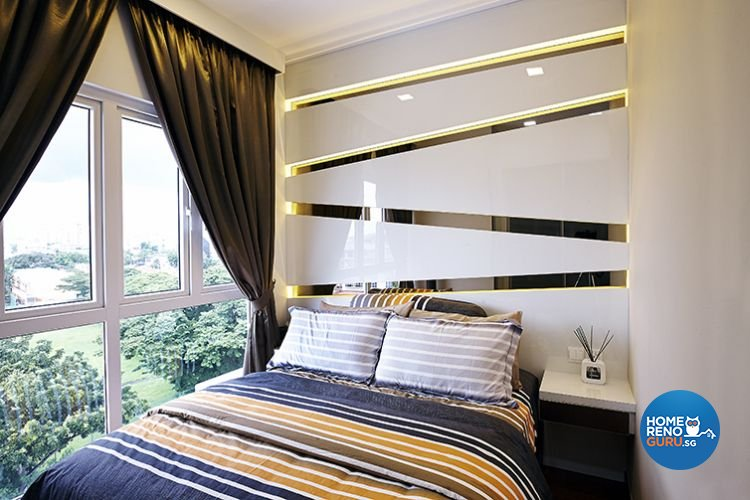 Modern, Resort Design - Bedroom - Condominium - Design by Renozone Interior Design House