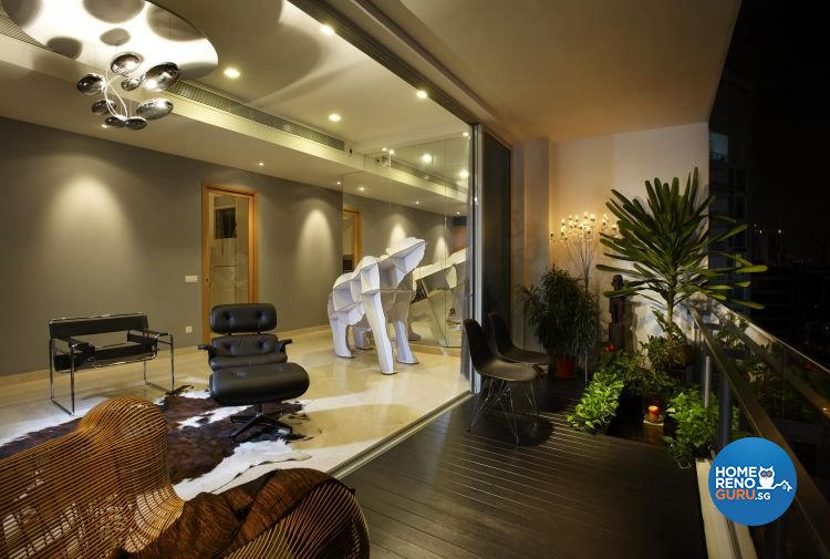 Classical, Contemporary, Modern Design - Balcony - Condominium - Design by Renozone Interior Design House