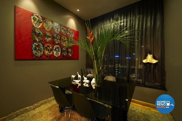 Classical, Contemporary, Modern Design - Dining Room - Condominium - Design by Renozone Interior Design House