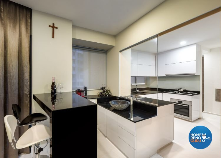 Classical, Contemporary Design - Kitchen - Condominium - Design by Rezt & Relax Interior