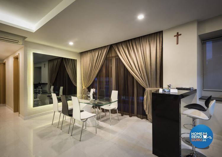 Classical, Contemporary Design - Dining Room - Condominium - Design by Rezt & Relax Interior