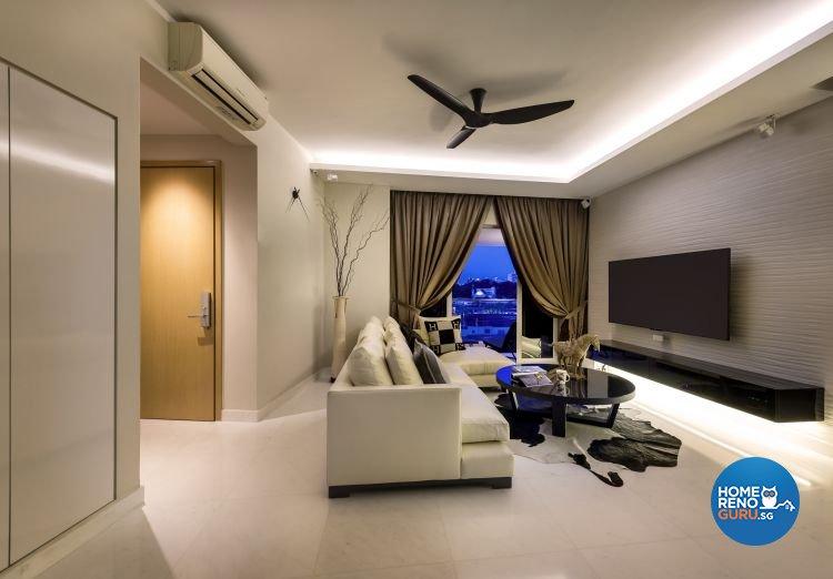 Classical, Contemporary Design - Living Room - Condominium - Design by Rezt+Relax Interior Design