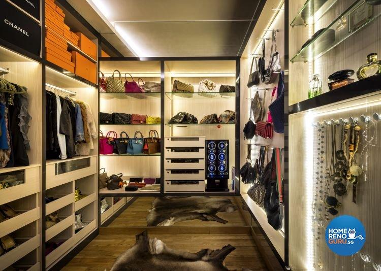 Classical, Contemporary Design - Entertainment Room - Condominium - Design by Rezt+Relax Interior Design