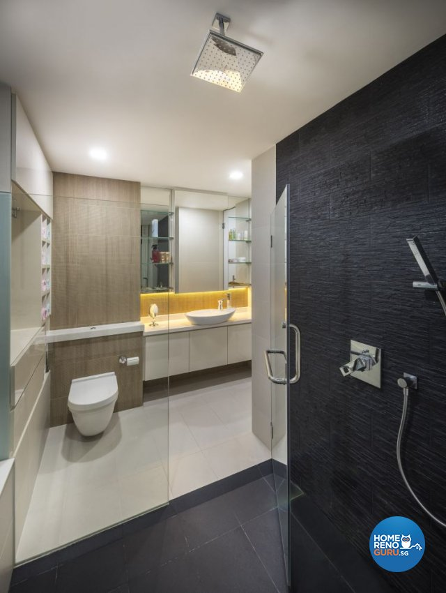 Classical, Contemporary Design - Bathroom - Condominium - Design by Rezt & Relax Interior