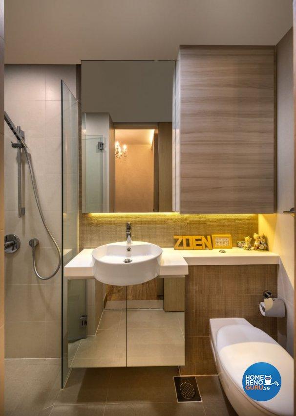 Classical, Contemporary Design - Bathroom - Condominium - Design by Rezt+Relax Interior Design
