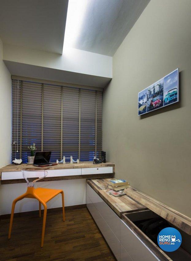 Contemporary, Modern Design - Study Room - Condominium - Design by Rezt & Relax Interior