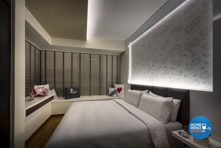Contemporary, Modern Design - Bedroom - Condominium - Design by Rezt & Relax Interior