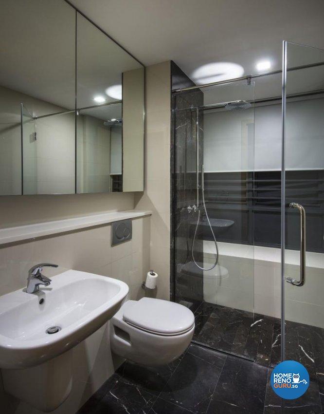 Contemporary, Modern Design - Bathroom - Condominium - Design by Rezt & Relax Interior