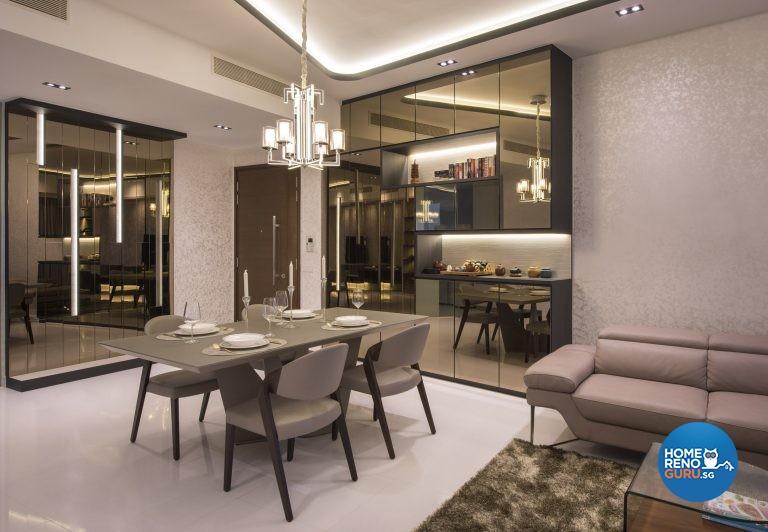 Modern Design - Dining Room - Condominium - Design by Rezt & Relax Interior