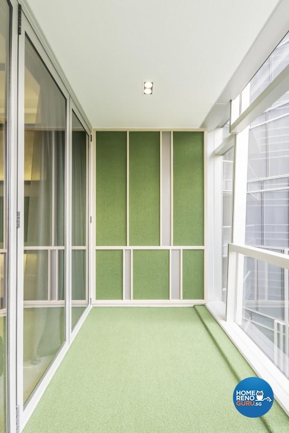 Classical Design - Balcony - Condominium - Design by Rezt+Relax Interior Design
