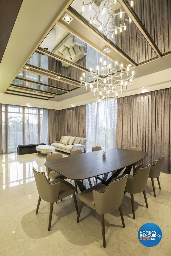 Classical Design - Dining Room - Condominium - Design by Rezt+Relax Interior Design