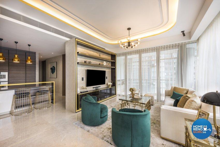 Modern, Others Design - Living Room - Condominium - Design by Rezt+Relax Interior Design