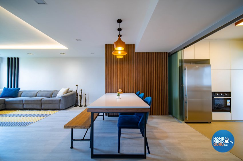Contemporary Design - Dining Room - HDB 4 Room - Design by Rezt+Relax Interior Design