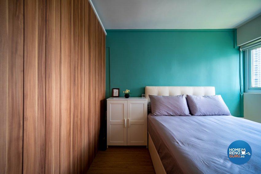 Contemporary Design - Bedroom - HDB 4 Room - Design by Rezt+Relax Interior Design
