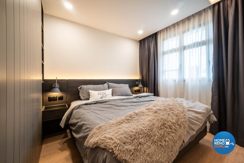 Contemporary Design - Bedroom - HDB 4 Room - Design by Rezt+Relax Interior Design
