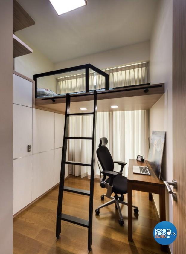 Scandinavian Design - Study Room - Condominium - Design by Rezt & Relax Interior