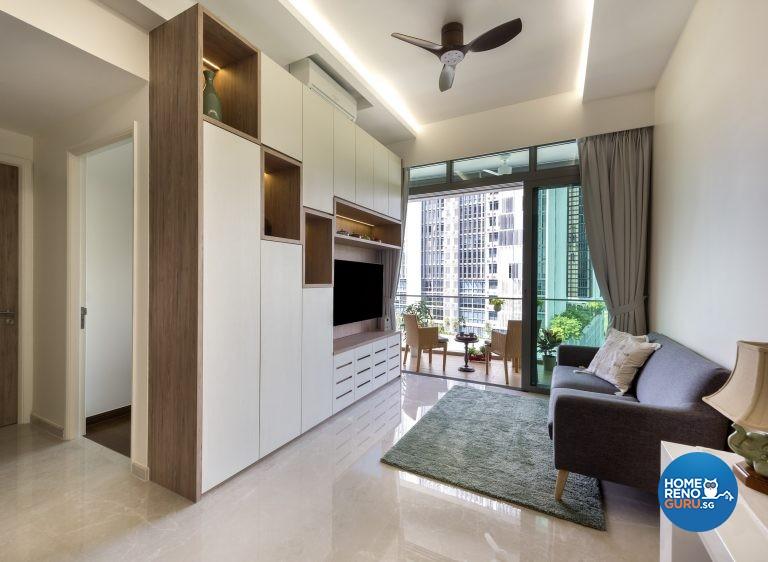 Scandinavian Design - Living Room - Condominium - Design by Rezt & Relax Interior