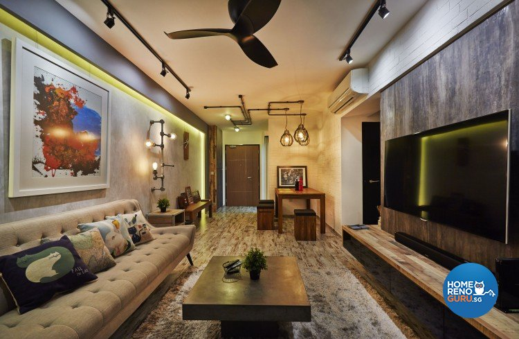 Industrial Design - Living Room - Others - Design by Rezt+Relax Interior Design